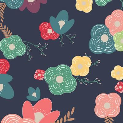 "Art Gallery - ""Table Flowers Cheer"" Happy Home by Caroline Hulse"
