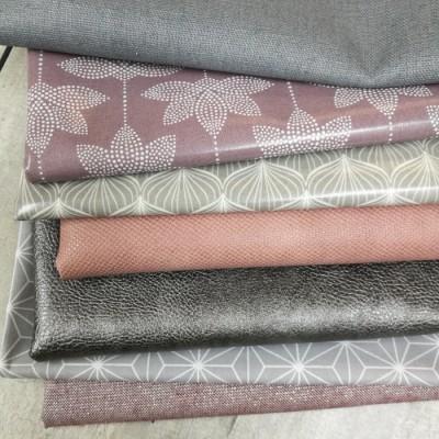 Stoffpaket Rosa-Grau