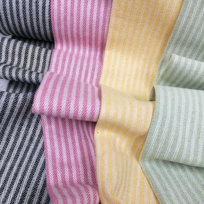 Hilco Streifen Canvas - verschiedene Farben
