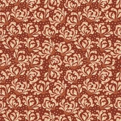 RJR Fabrics - Magic of Serengeti - Blooming Flowers - sienna