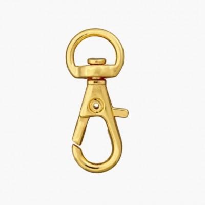 Karabinerhaken gold 10mm