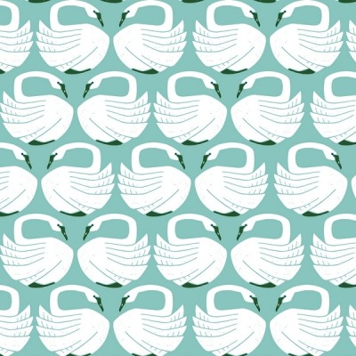 Cotton and Steel - Loving Swans - On a Springday