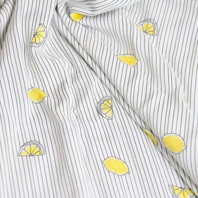 "Reststück 38cmx145cm - Hilco Viskose ""Lemonie"""