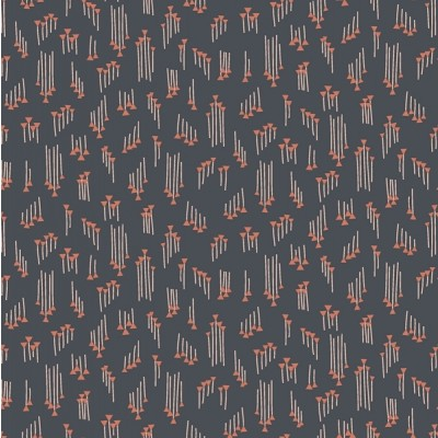 Quarter 50cmx56cm - Cotton and Steel - Emilia - Hermione slate