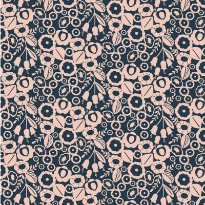 Cotton+Steel Canvas - Emilia - Adele navy