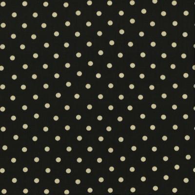 Moda Stoff Little Black Dress Polka Dot - Schwarz