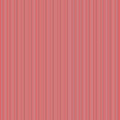 Makower - Pinstripe - rot-weiss
