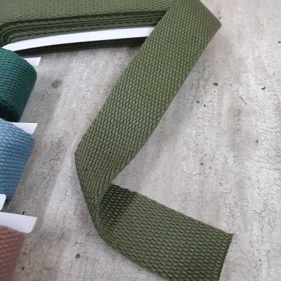 Gurtband khaki grün - 2m - 30mm breit