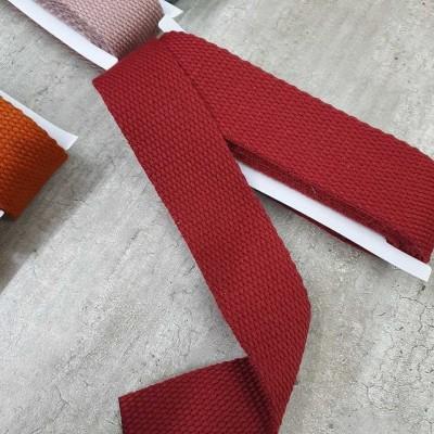 Gurtband bordeaux - 2m - 30mm breit