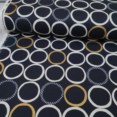 Canvas - Ringe - schwarz metallic