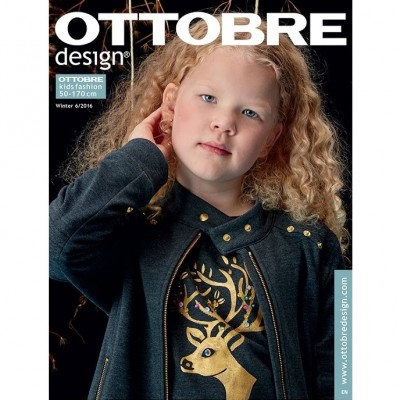 Ottobre kids fashion Größe 50-170 Winter 06/2016