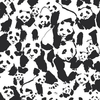 Reststück 66cmx112cm - Art Gallery - Pandalicious - Pandalings Pod