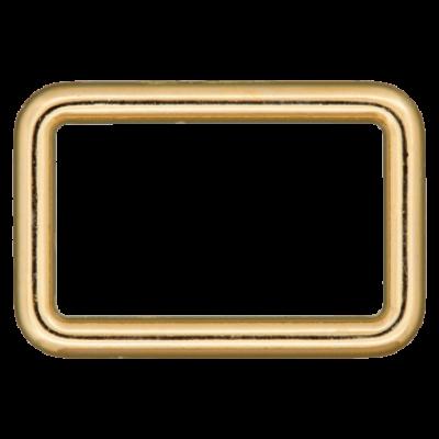 Rechteck-Ring gold - verschiedene Breiten
