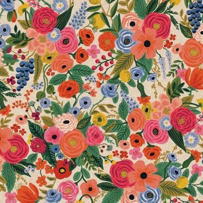 Cotton+Steel Canvas - Wildwood - Garden Party pink