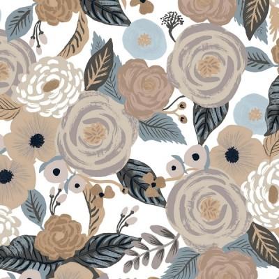 Cotton+Steel Canvas - Garden Party - Juliet Rose linen multi
