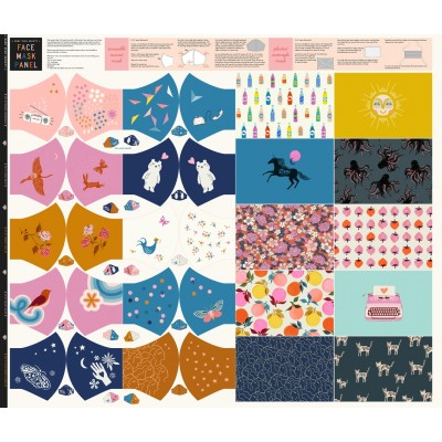 Face Mask Panel - Ruby Star Society - Maskenpanel