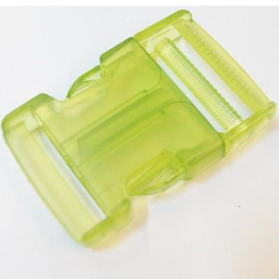 Rucksackschnalle grün 40mm