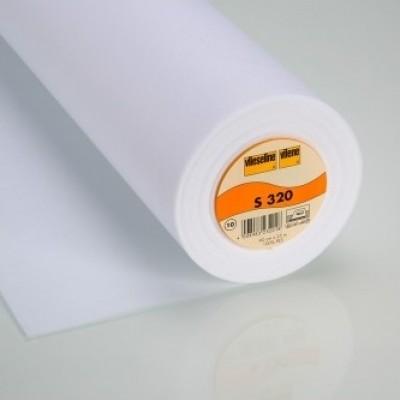 Vlieseline Bügelvlies S320 fixierbar 90cm weiß