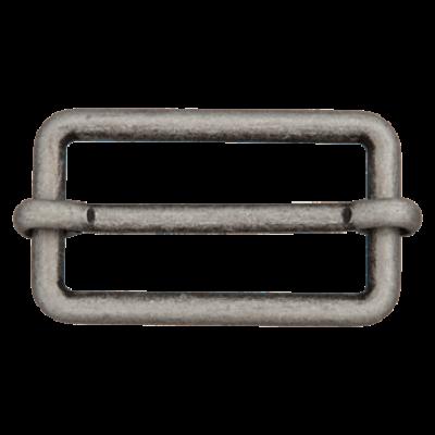 Metallschieber altsilber in verschiedenen Breiten