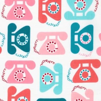 """Quarter 50cmx56cm - Robert Kaufman """"This & That"""" von Anne Kelle Telefone"""
