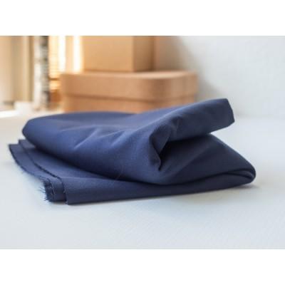 Reststück 26cmx145cm - Washed Cotton Twill von Mind the Maker in navy