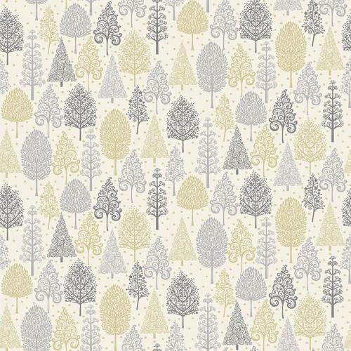 Makower - Scandi - Trees grey