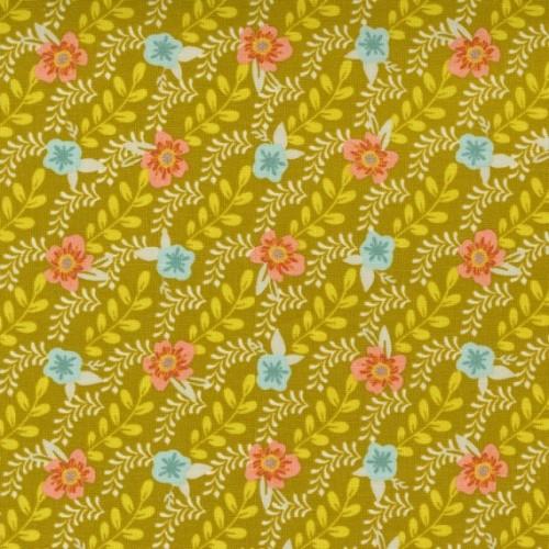Trellis Climb, dijon - Songbook - Moda Fabrics