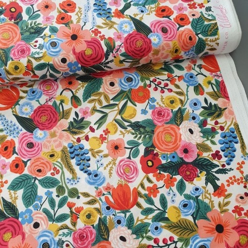 Cotton and Steel - Rifle Paper Co. - Wildwood - Garden Party
